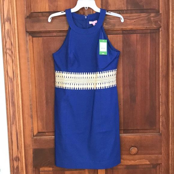 ced404cf538dda Lilly Pulitzer Dresses | Bomber Blue Ashlyn Shift Dress | Poshmark